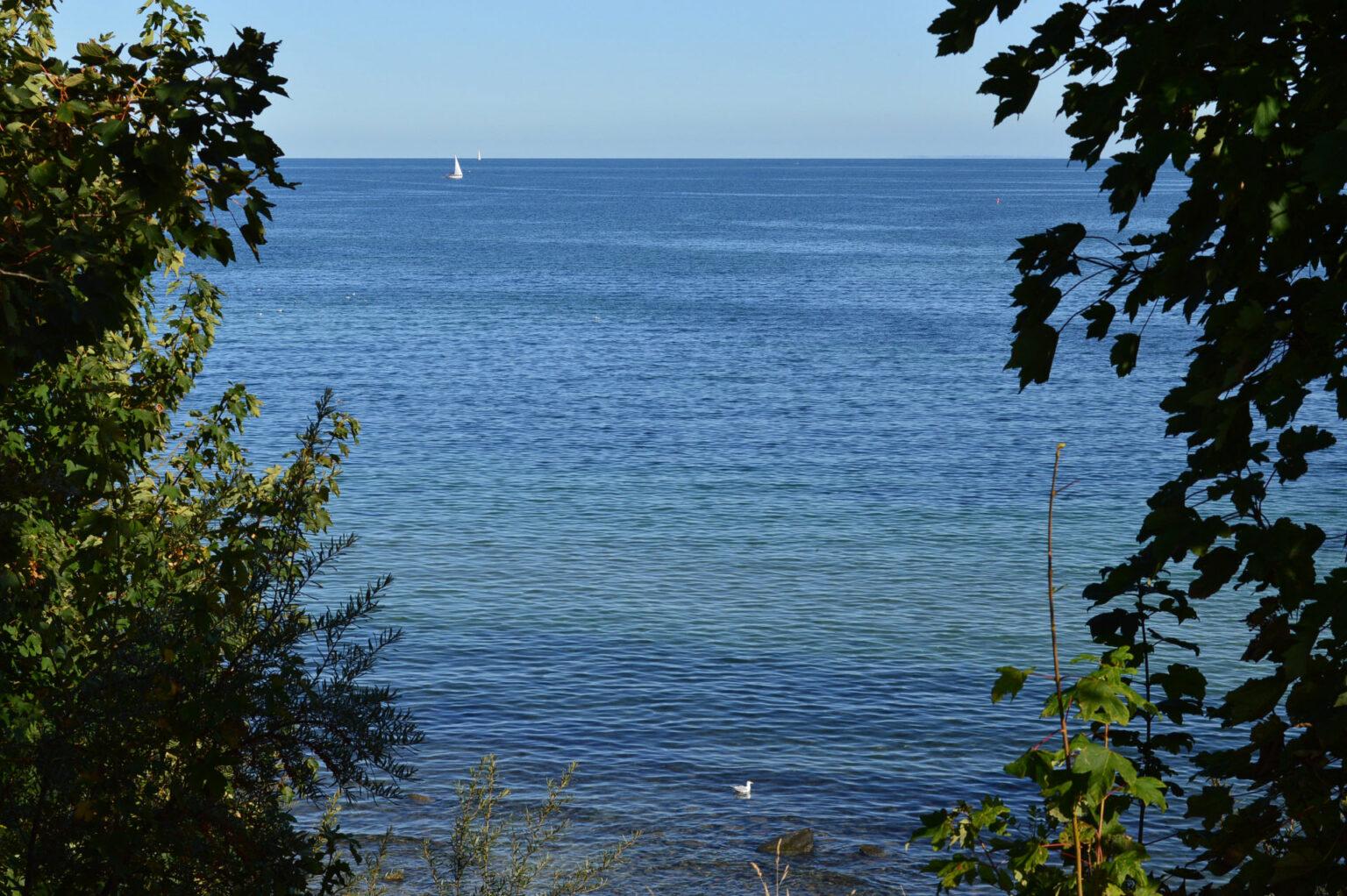 Grömitz - Blick aufs Meer