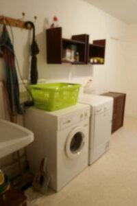 Keller - Waschmaschine & Trockner